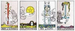 The Four Tarot Card Suits and their Meaning
